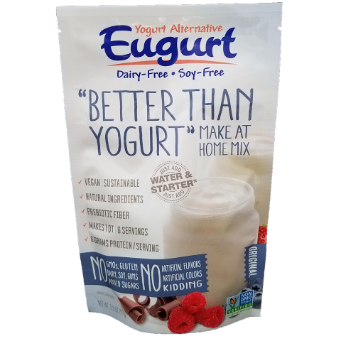Eugurt Single - 6 servings (dairy-free and soy-free)