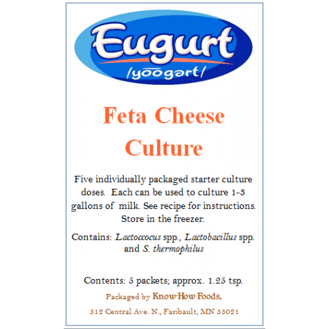 Feta Culture - 5 packets
