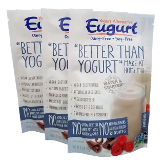 Eugurt Triple - 18 servings (dairy-free and soy-free)